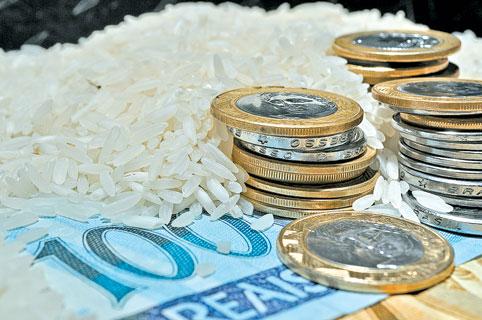 arroz dinheiro